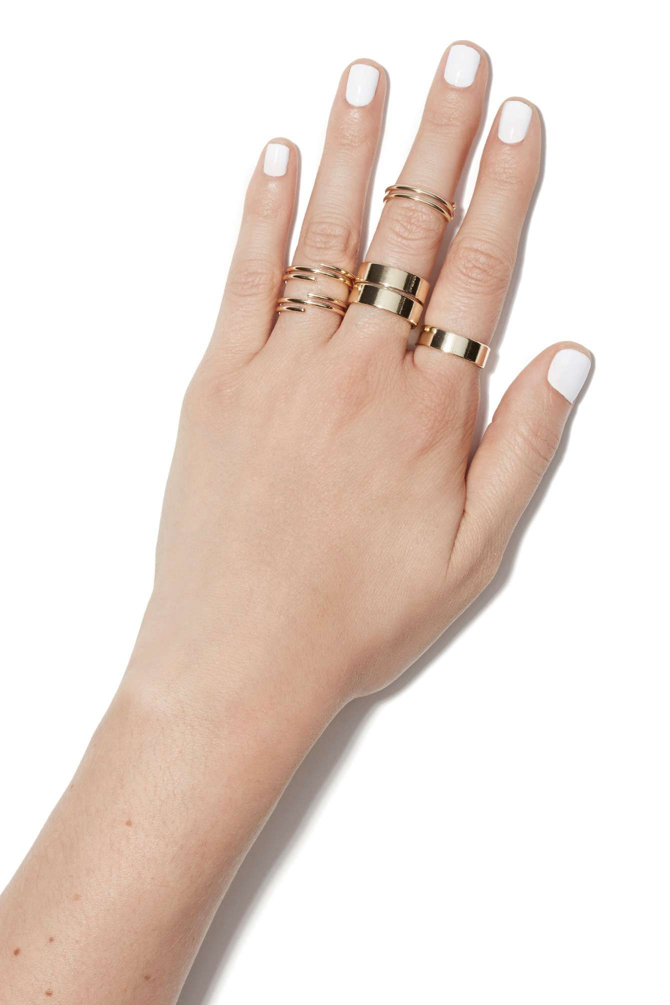 Through Thick and Thin Multi Ring Set | Shop Jewelry at Nasty Gal