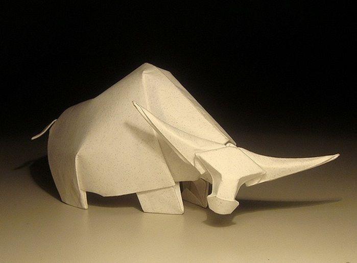 Мокрое оригами. Магия воды и бумаги в 2020 г | Оригами ...