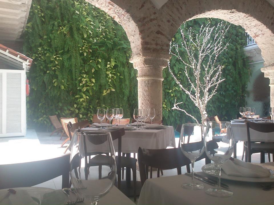 Desde mi mesa de almuerzo en el restaurante Vera del Hotel de Silvia Tcherassi-Cartagena. #DionisioPimiento #Food #Foodie