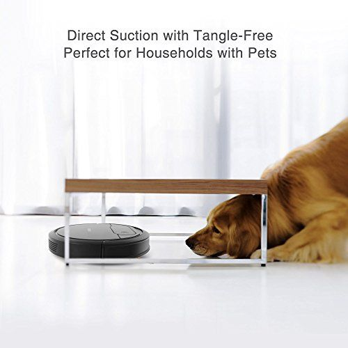 ECOVACS Robotic Vacuum Cleaner, Tangle-free Suction for Pet Hair ...