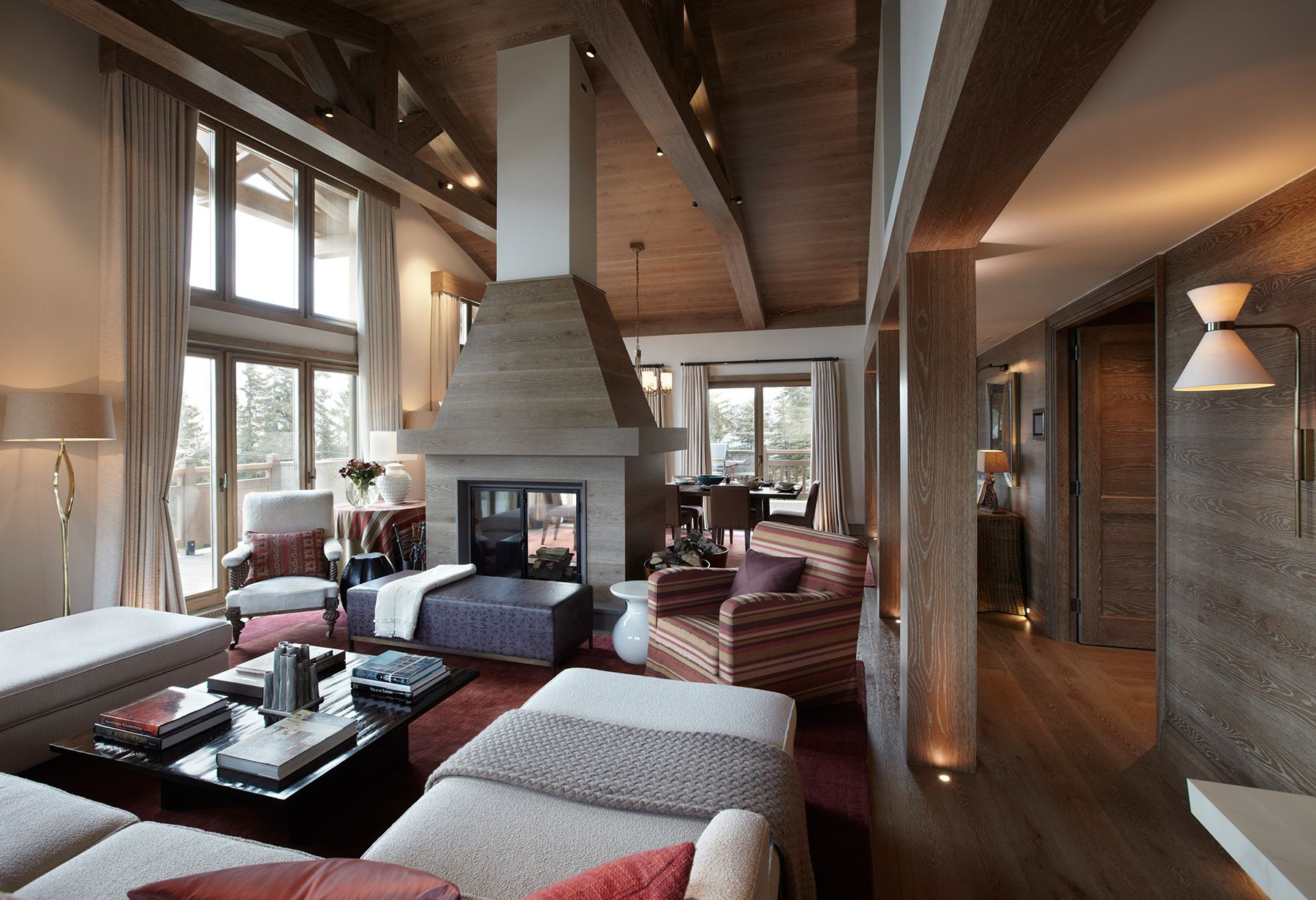 Great Chalet Brickell U2013 A Luxurious And Enchanting Alpine Getaway In Megève |  Eclectic Design, Amazing Houses And Architecture Design Good Looking