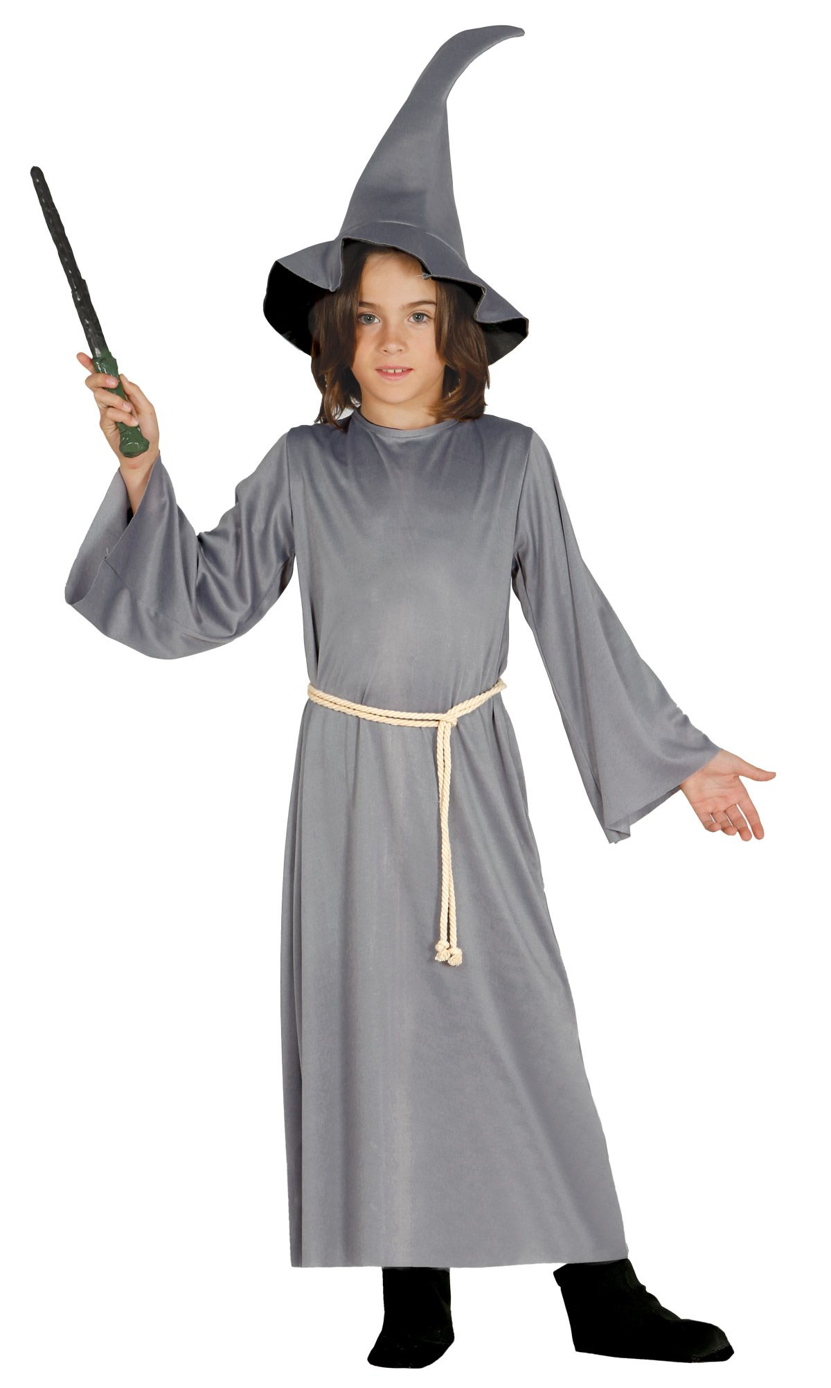 Costume mago stregone bambini  Questo costume da mago stregone per bambino è  composto da una 312c206087b3