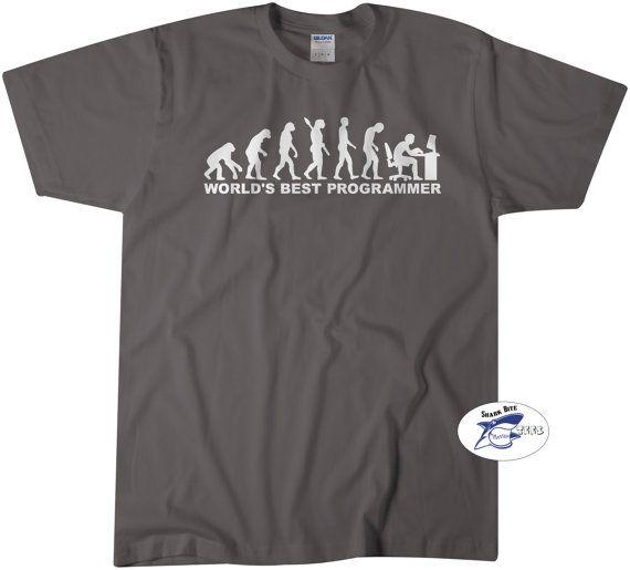 eb9ea0d9 World's Best Programmer Tshirt Computer Science Geek Nerd Programmer T-Shirt  Funny Geek Tees Women M