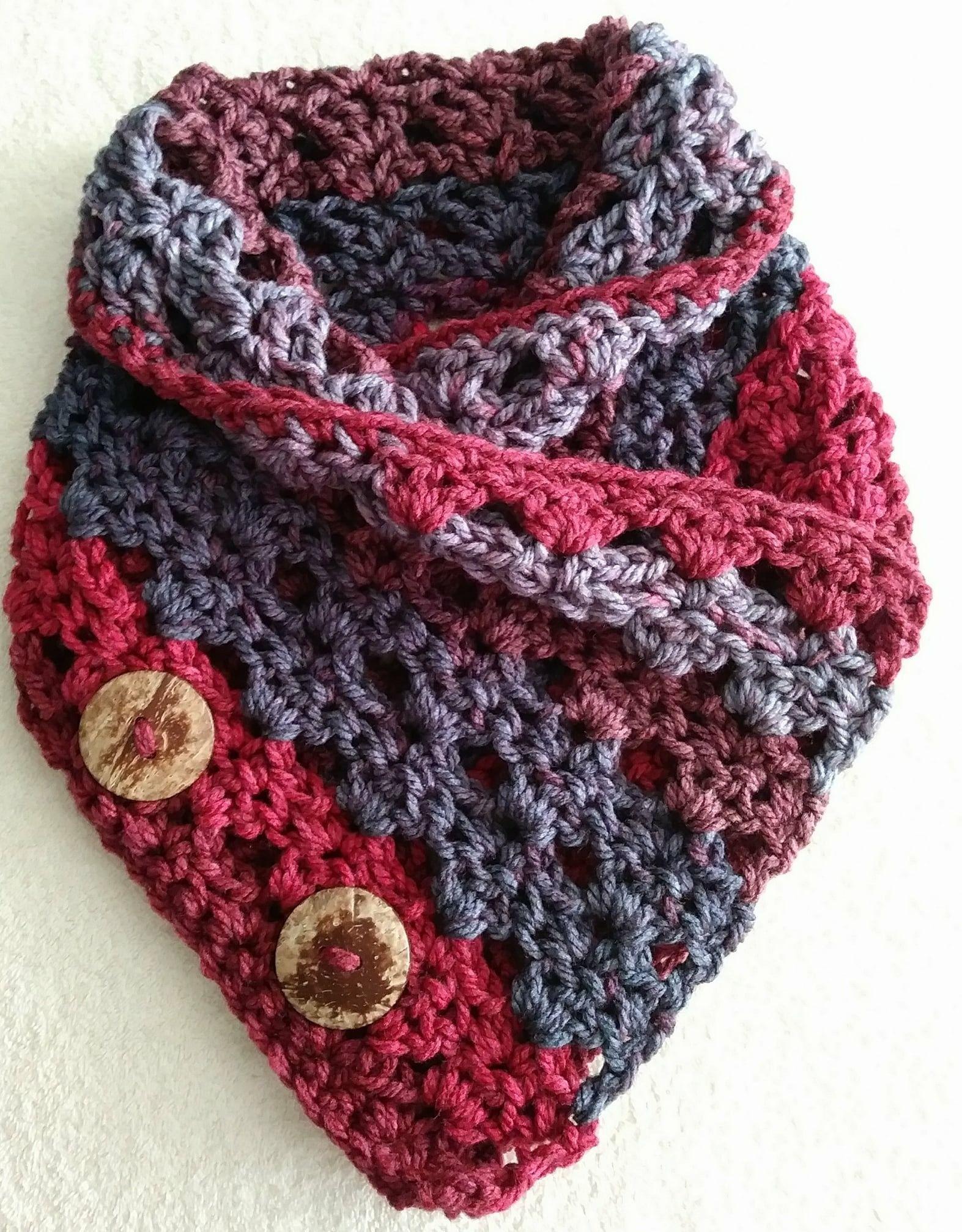 Linen Chunky Cowl | Crocheting | Pinterest | Tejido