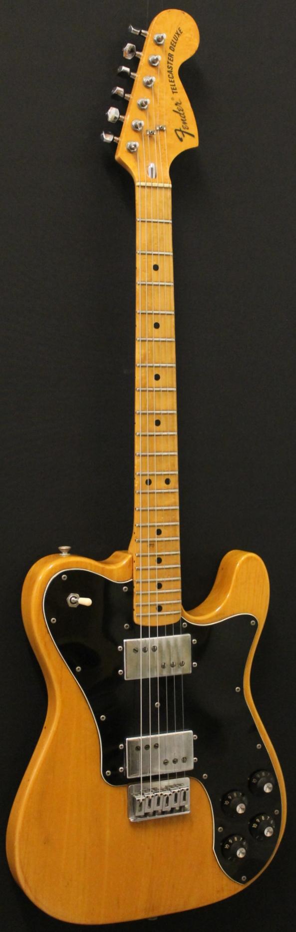 Kitarakuu - Fender Telecaster Deluxe 1974Nat