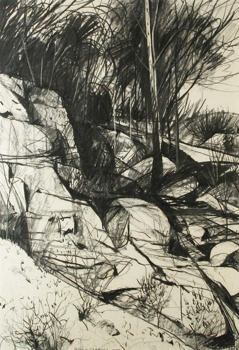 Patrick Carroll 3 Collage Landscape Landscape Drawings Landscape Art