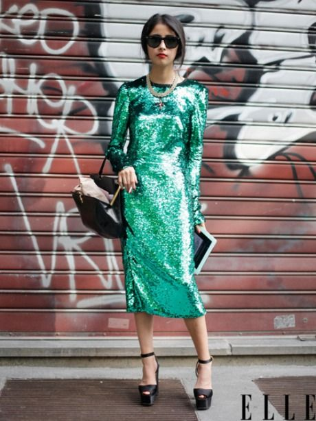 11 Chic Ways to Wear Sequins This Season