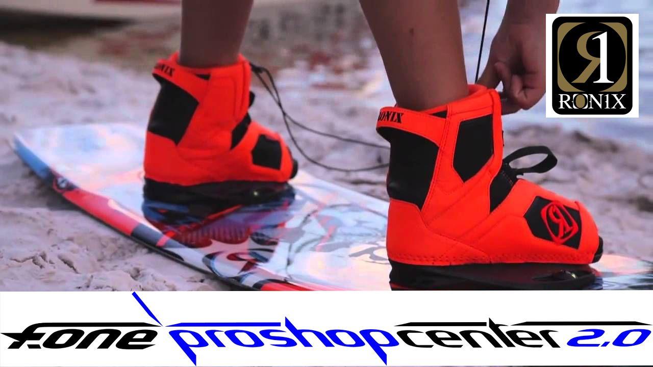 Actualizarse o morir... pon unas botas RONIX en tu tabla para tus sesiones freestyle y notaras el cambio!