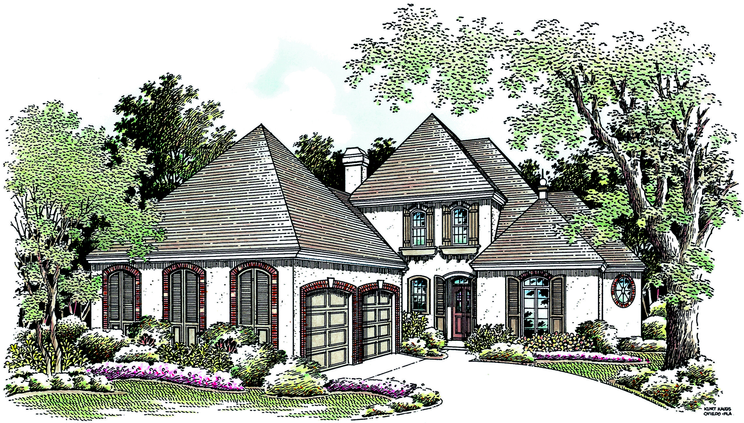 Plan 5556br Old World Charm Cottage House Plans House Plans Old World