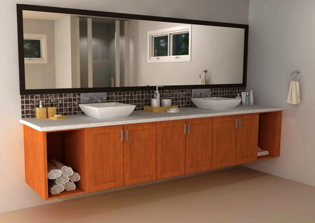 Custom Designs Ikea Bathroom Sinks In 2020 Kitchen Cabinets In Bathroom Ikea Bathroom Floating Bathroom Vanities