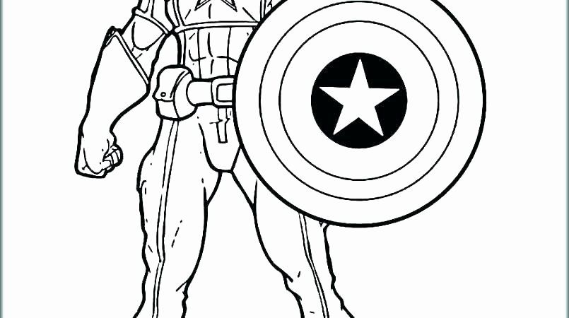 Captain America Shield Coloring Page Inspirational The Best Free