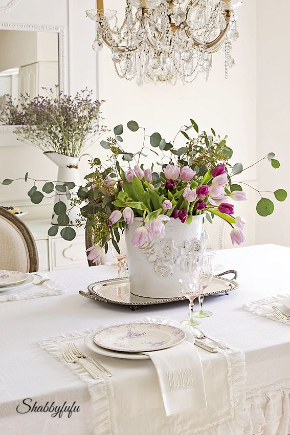 Choosing Colors For A Spring Table Setting | Spring, Tablescapes And Table  Settings