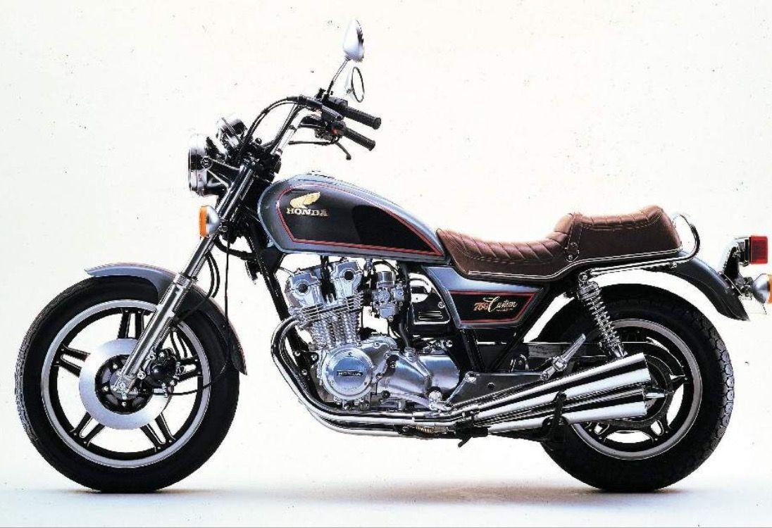 Honda Cb750 Custom Honda Cb Honda Cb750 Vintage Honda Motorcycles [ 750 x 1096 Pixel ]