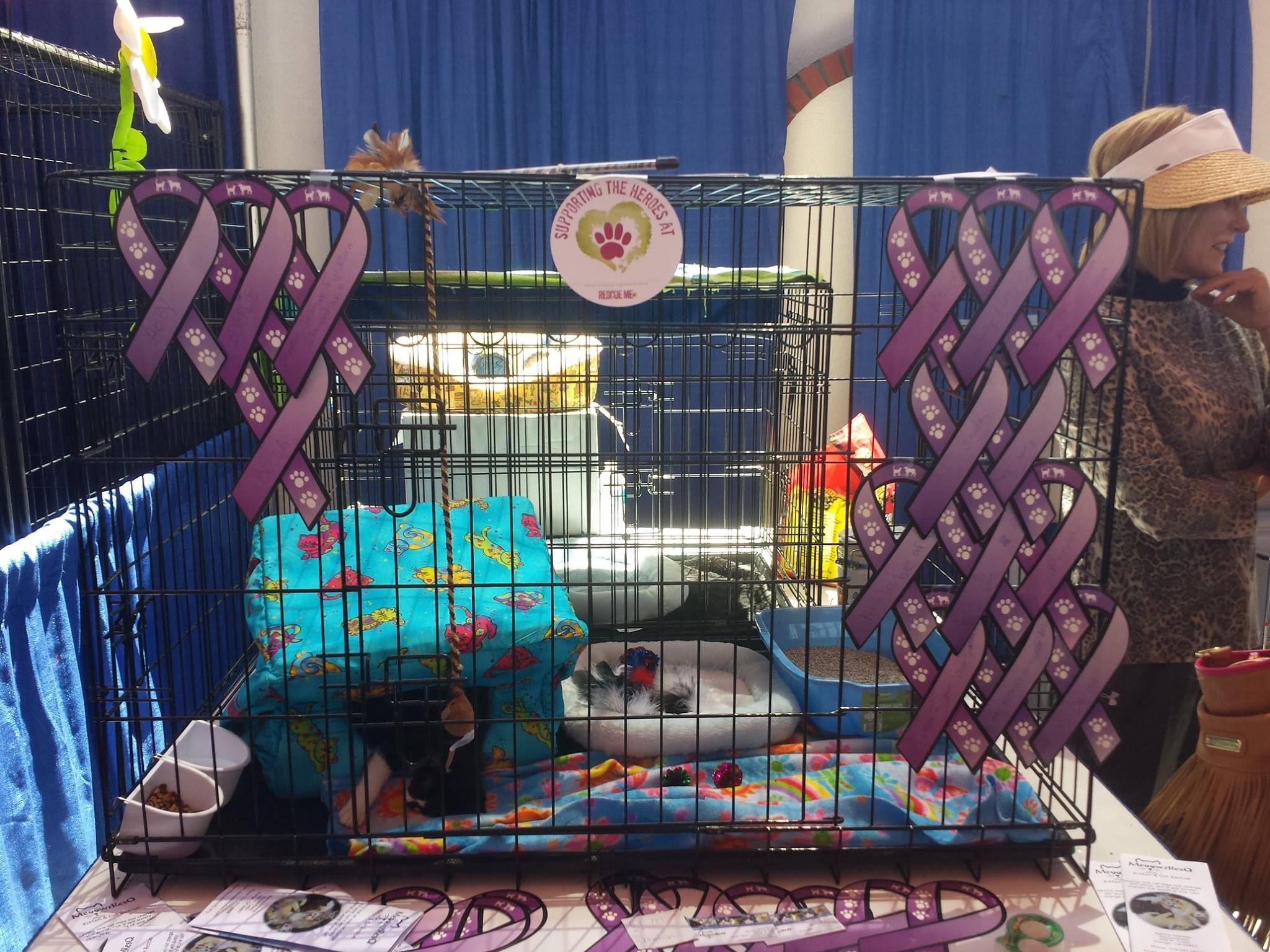 MeoowzResq at Orange County Pet Expo, 2014! We had some
