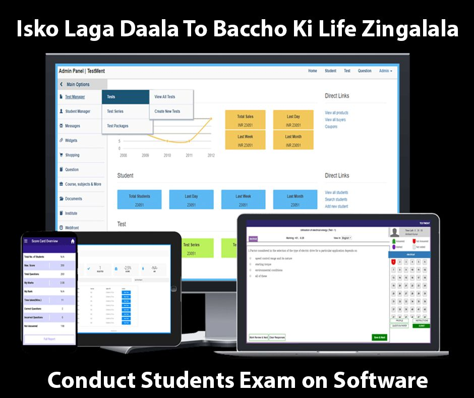Pin On Online Exam Software