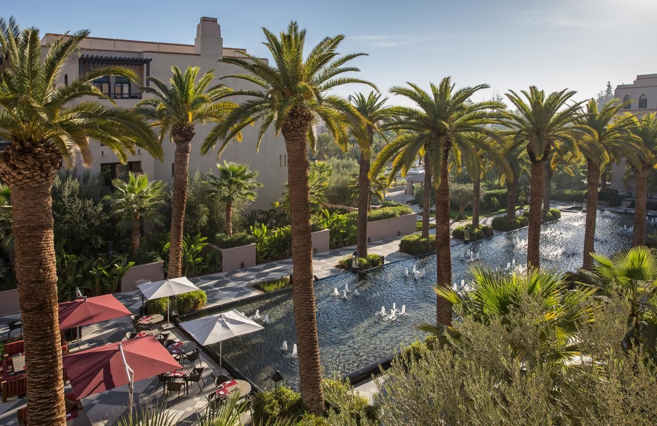 Four Seasons Resort Marrakech Hotel at Morocco is a 3-minute drive ...