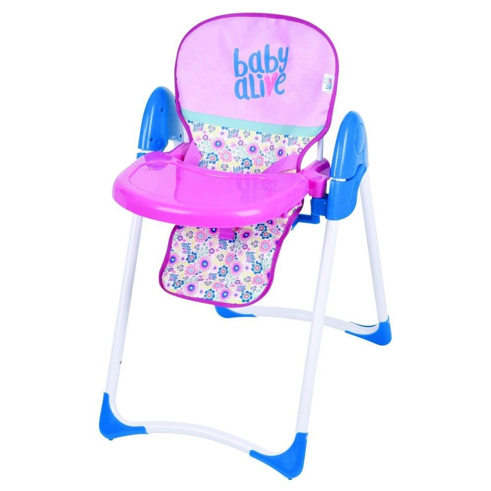 Baby Alive Doll Deluxe High Chair Baby Alive Dolls Baby Alive