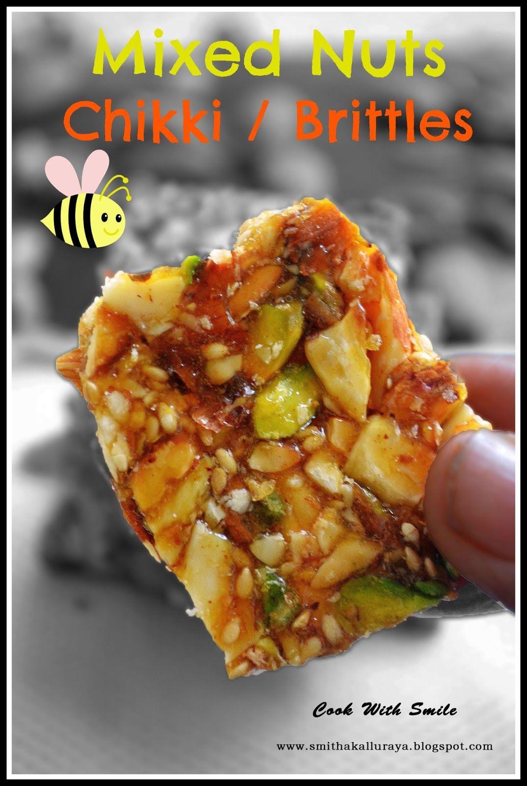 mixed nuts chikki recipe,dry fruit chikki recipe,mixed