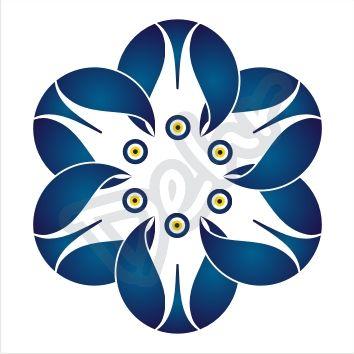 Nazar Boncuğu / Lale #mandala