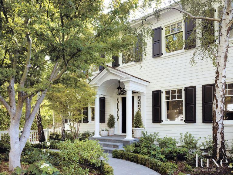 Landscape Design Front Of Colonial House Part - 48: Colonial Revival Landscape Design - Google Search