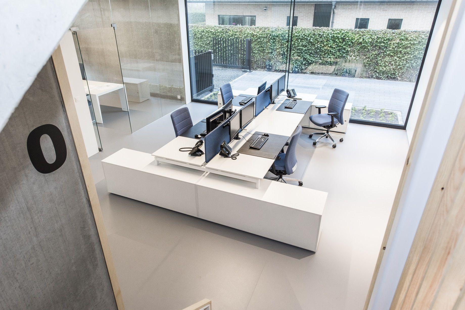 Design Bank Wit.Dg Vh Accountancy In 2019 Werkplekken Bench Dining Table En Home