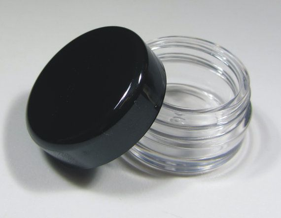 100 Refillable Cosmetic Containers Small Makeup Sample Jars Etsy Makeup Jars Cosmetic Containers Cosmetic Jars