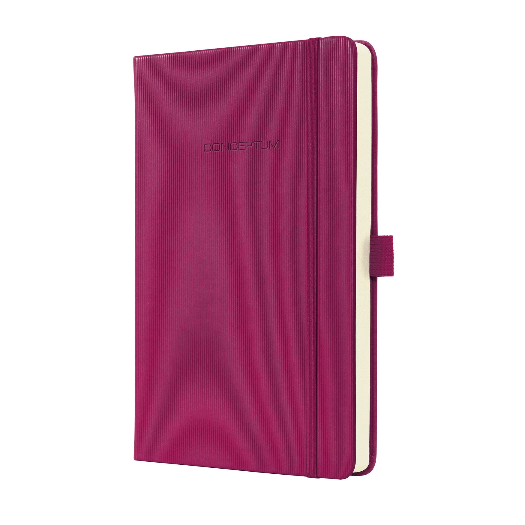 Sigel Hardcover Notebook With Elastic Closure Lined Paper A5