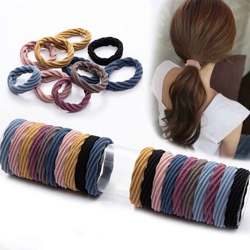 1pcs Fashion Elastic Rope Women Hair Ties Ponytail Holder Head Band Hairbands
