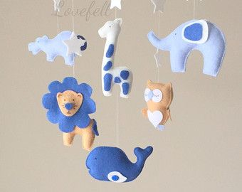 Baby mobile - animals Mobile - forest Mobile - zoo Mobile