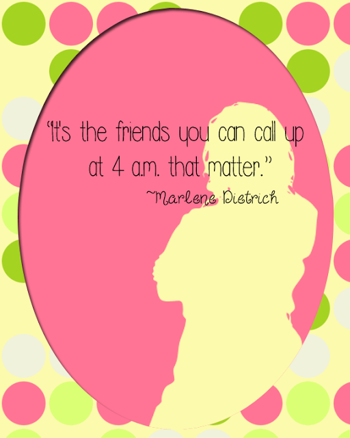 Silhouette Friendship Quotes