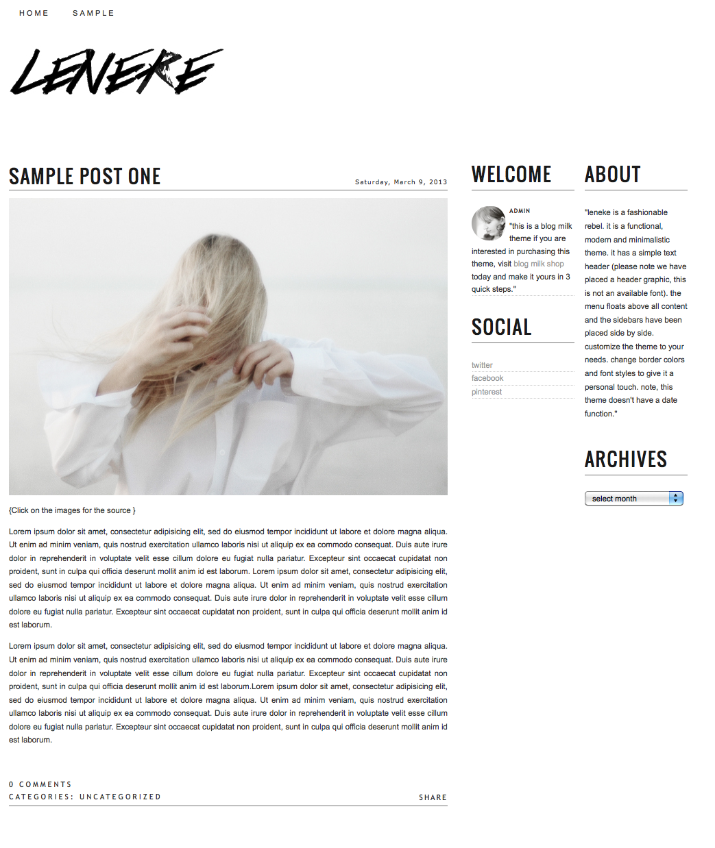 Blog Milk Now Has Beautiful Themes for Blogger AND WordPress// I ...