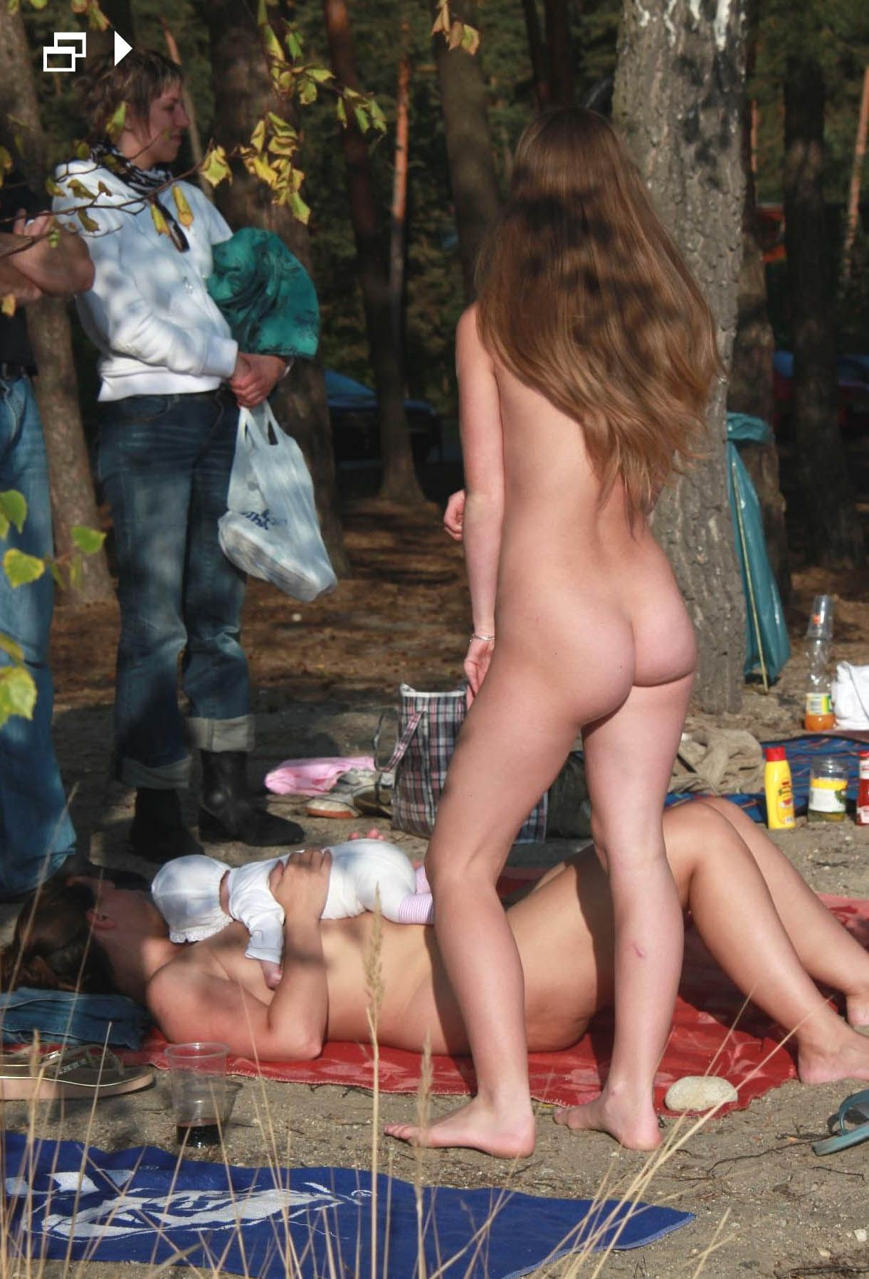 nudist teens in europe