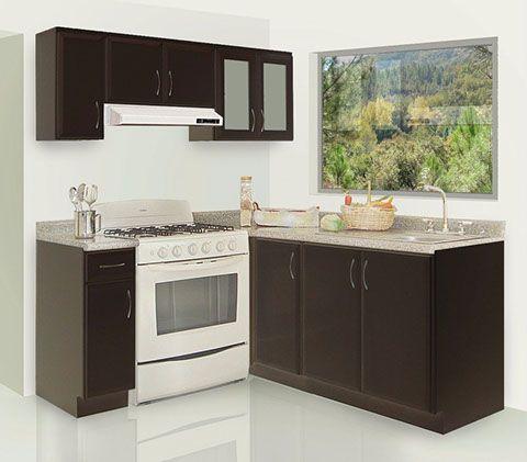 Paquetes y escuadras de cocinas econ micas en cdmx for Disenos de cocinas pequenas y economicas