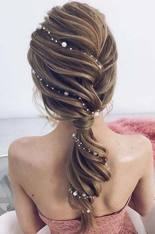 45 Best Wedding Hairstyles For Womens 2018 Hair Styles Wedding Hairstyles Hair Vine
