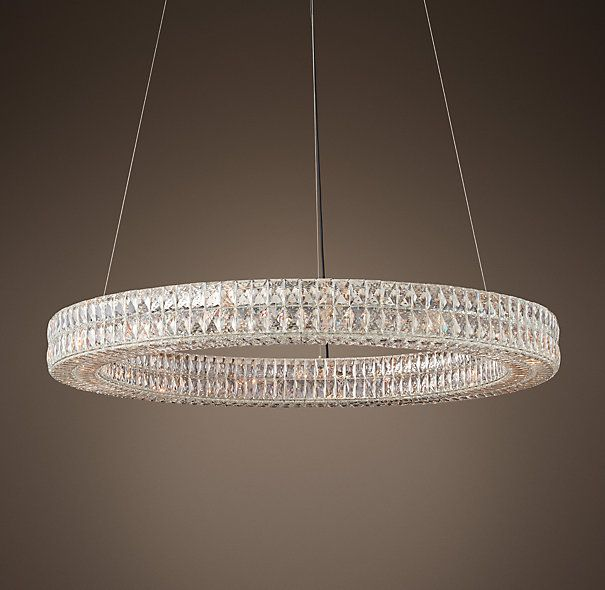 RH\'s Spiridon Ring Chandelier 43\