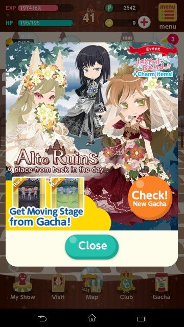Alto Ruins Gacha Joyful Band Event | CocoPPa Play | Art, Anime, Band