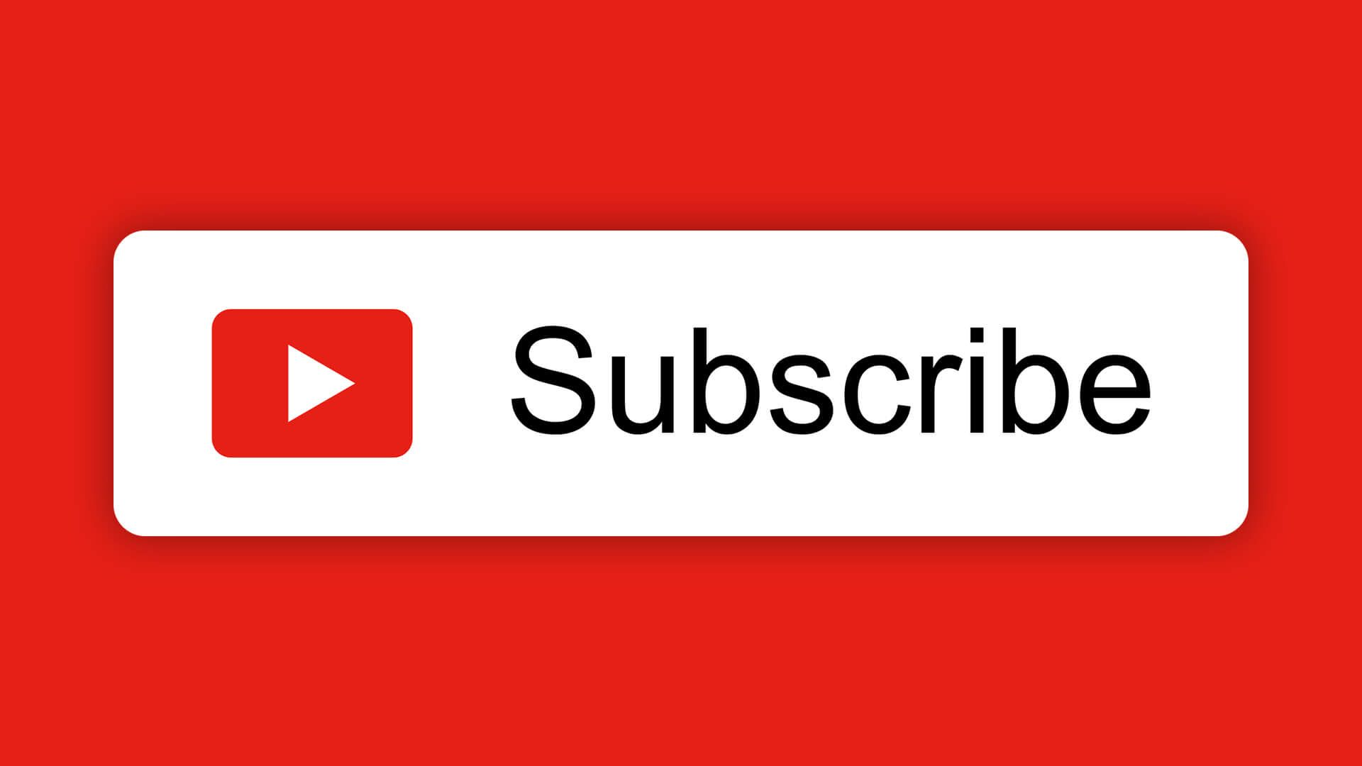 Free Youtube Subscribe Button Download Design Inspiration Gambar