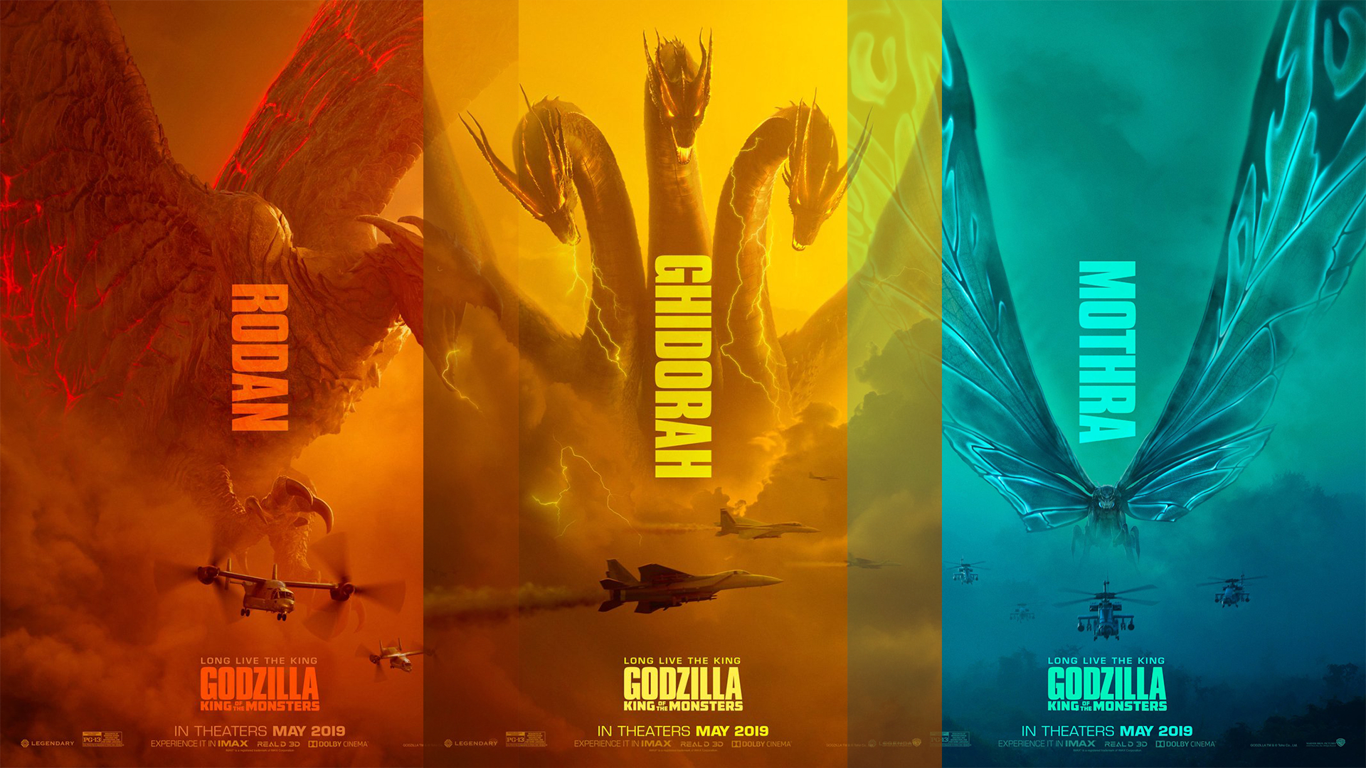 Image result for godzilla king of the monsters hd wallpaper