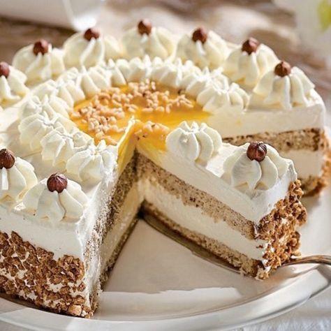 Nuss Eierlikor Torte Rezept Eierlikorkuchen Backrezepte