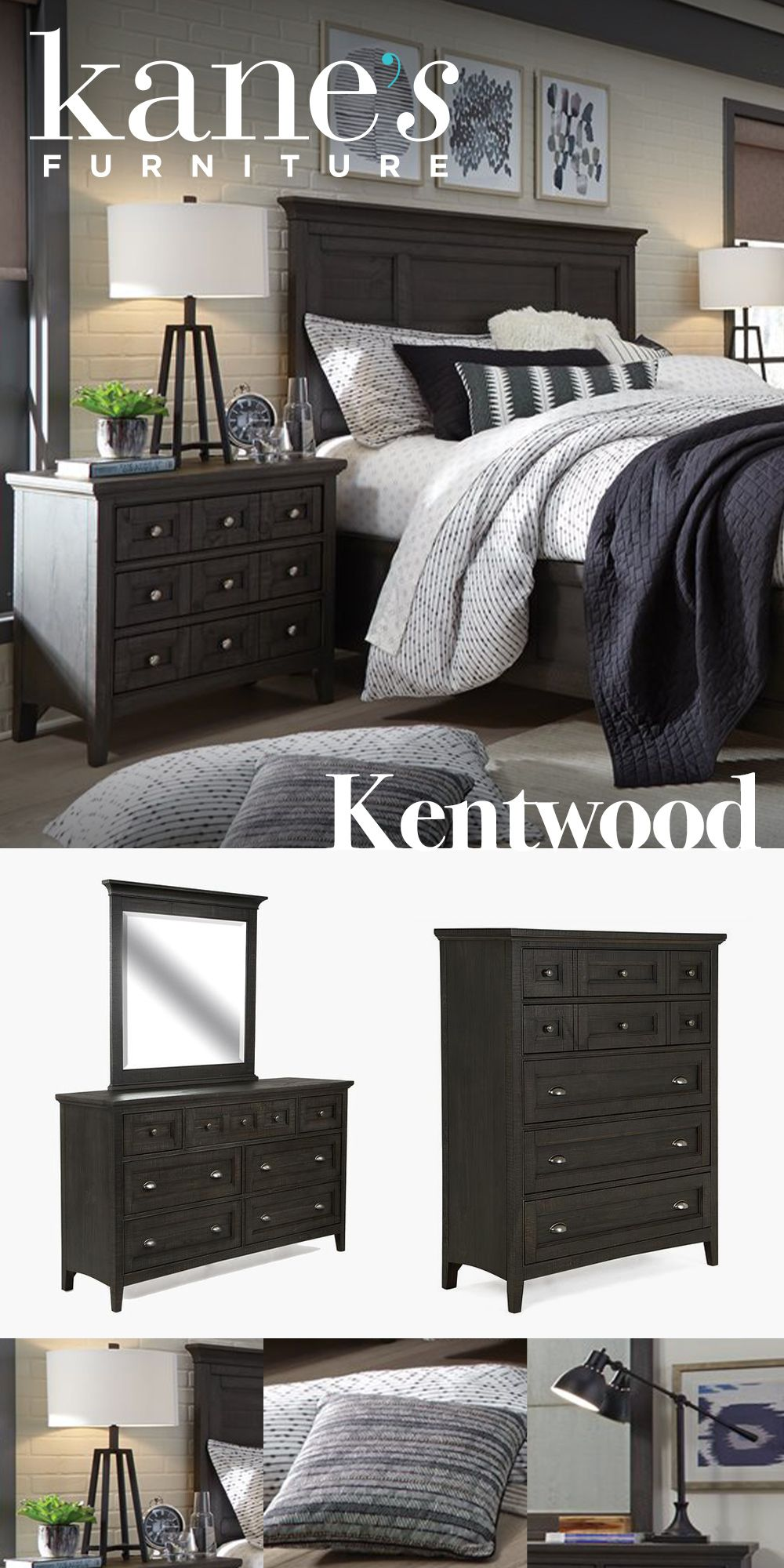 The Contemporary Kentwood Bedroom Set Will Transform Your Bedroom