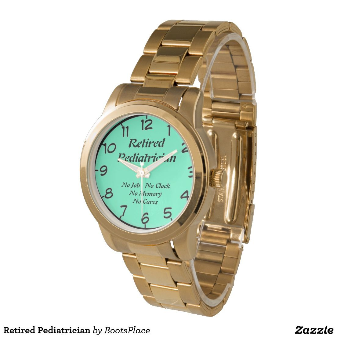 Retired Pediatrician Wrist Watches