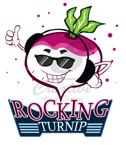 rocking turnip logo my logo designs pinterest logos