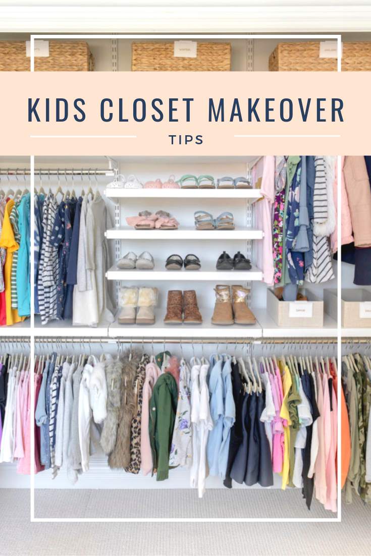 How To Easily Organize Kids Shared Closet Pin Kids Closet Organization Shared Closet Organization Kids