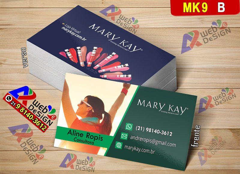 Imprimir Online Cartao De Visitas Mary Kay Cartao De Visita