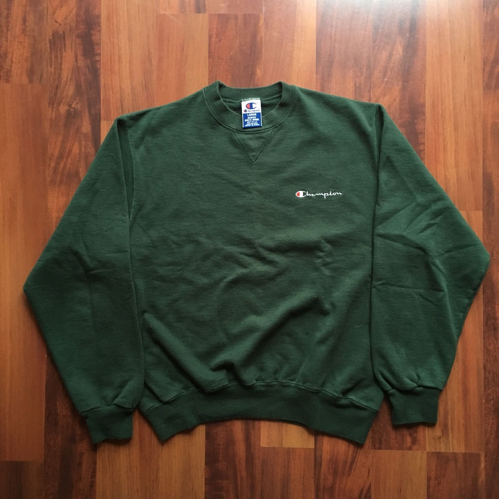 Vintage Champion Sweatshirt Spell Out Green Made In Usa Sweatshirts Champion Sweatshirt Champion Sweatshirt Vintage [ 1600 x 1600 Pixel ]