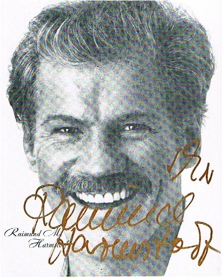 "autogrammkarten stars international | Raimund Harmstorf †, u.a. ""Jack London: Wolfsblut"" (1973)"