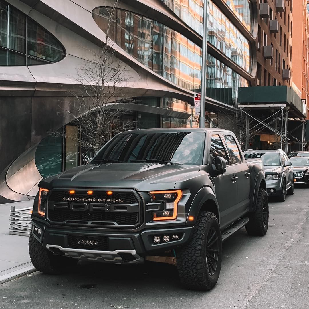 Image May Contain Car And Outdoor Ford Raptor Ford Trucks F150