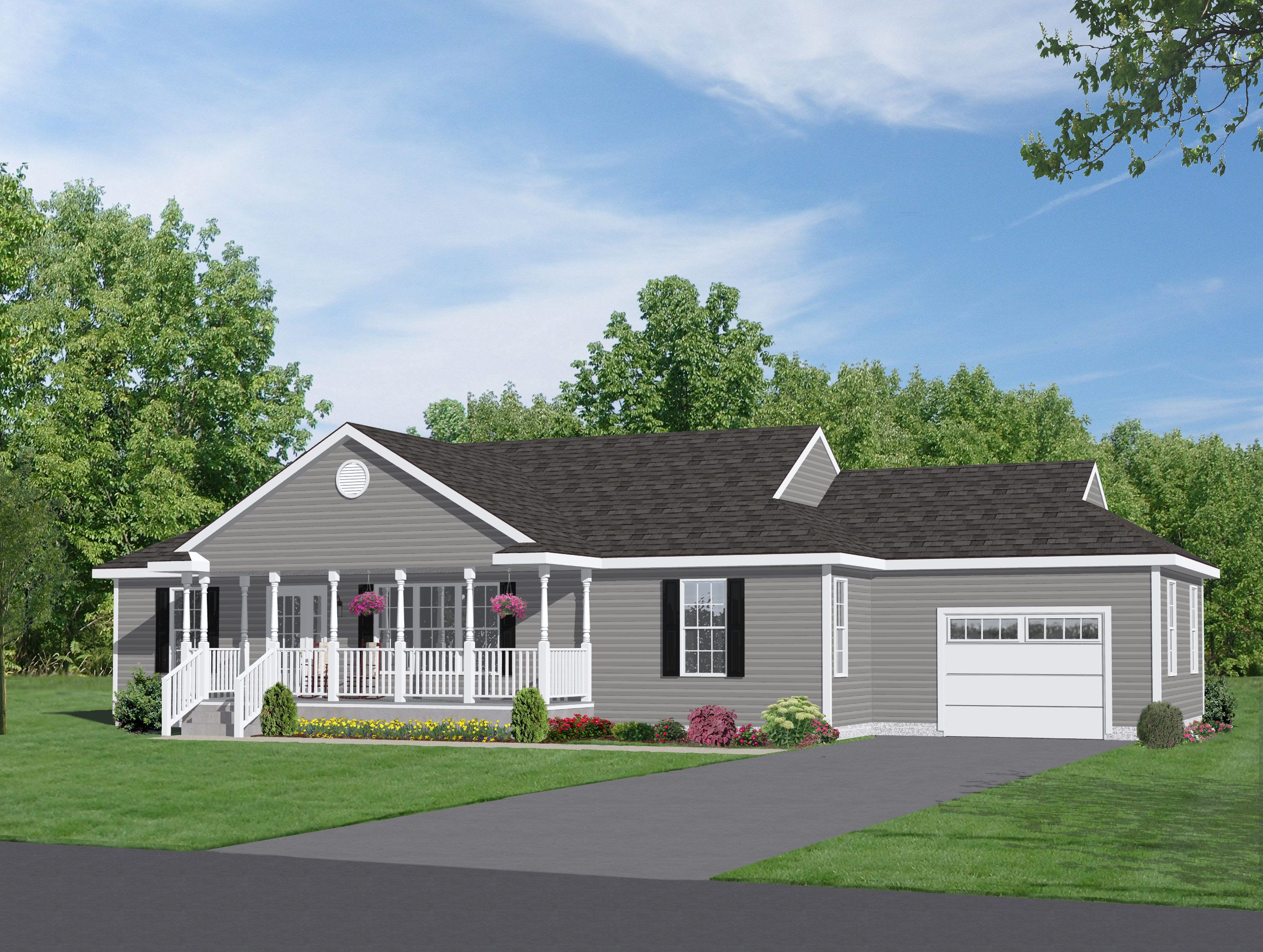 Rancher plans rancher plans two story house plans ranch for Country ranch house plans with basement