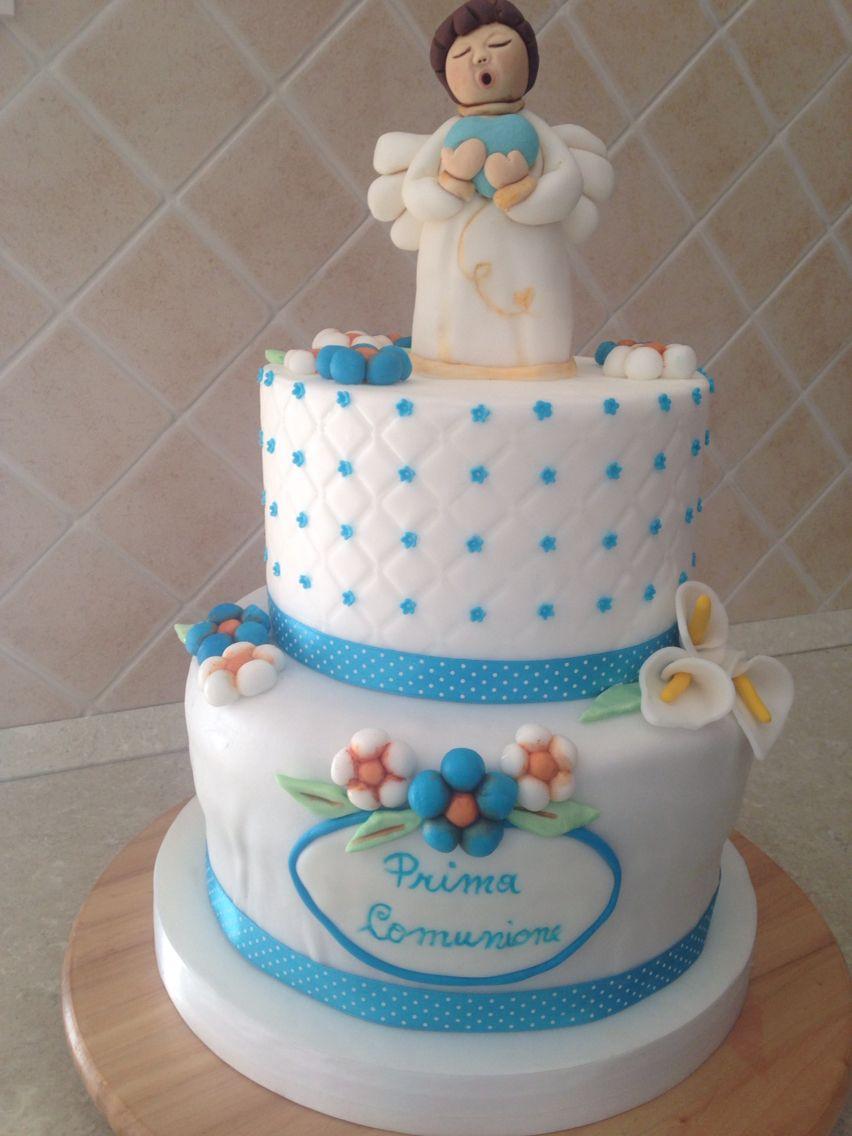 Thun cake, prima comunione bimbo, Angelo thun