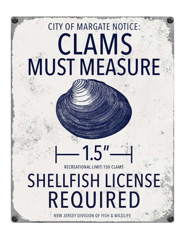 Margate Nj Clam Fishing Regulations Ocean City Nj Nj Beaches